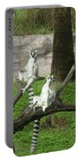 The Real King Julian Portable Battery Charger