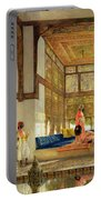The Reception Portable Battery Charger by John Frederick Lewis