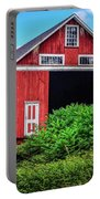 The Red Barn Portable Battery Charger