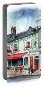 The Red Boat In Beaumaris Portable Battery Charger