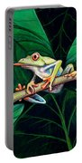 The Red Eyed Tree Frog Portable Battery Charger
