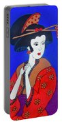 The Red Geisha Portable Battery Charger
