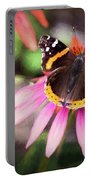 The Regal Red Admiral Portable Battery Charger