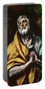The Repentant Saint Peter Portable Battery Charger