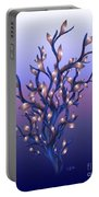The Resolutions Tree At Dawn Portable Battery Charger