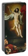 The Resurrection Of Christ Portable Battery Charger by Bartolome Esteban Murillo