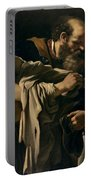 The Return Of The Prodigal Son Portable Battery Charger by Giovanni Francesco Barbieri