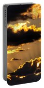 The Rising Of The Setting Sun Portable Battery Charger