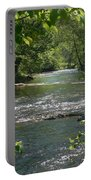 The River In Spring Portable Battery Charger
