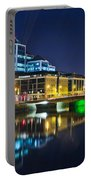 The River Liffey Reflections 4 Portable Battery Charger
