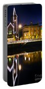 The River Liffey Reflections Portable Battery Charger
