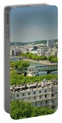 The River Of Paris Portable Battery Charger