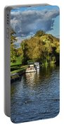 The River Thames At Wallingford Portable Battery Charger