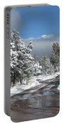 The Road Through Winter Portable Battery Charger