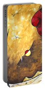The Road To Life Original Madart Painting Portable Battery Charger