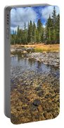 The Rocks Of Rock Creek Portable Battery Charger