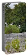 The Rocky Limestone Climb Portable Battery Charger