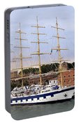 The Royal Clipper Docked In Venice Italy Portable Battery Charger