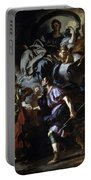 The Royal Hunt Of Dido And Aeneas Portable Battery Charger