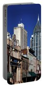 The Rsa Tower - Mobile Alabama Portable Battery Charger