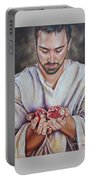 The Sacrifice Of Jesus Portable Battery Charger