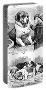 The Saint Bernard Club Dog Show Portable Battery Charger