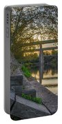 The Schuylkill Steps - East Falls - Philadelphia Portable Battery Charger