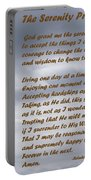 The Serenity Prayer Portable Battery Charger by Barbara Snyder
