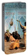 The Serpent Charmer Portable Battery Charger by Jean Leon Gerome