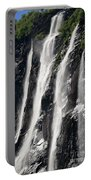 The Seven Sister Waterfall Portable Battery Charger