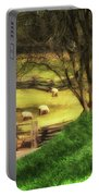 The Sheep's In The Meadow Portable Battery Charger