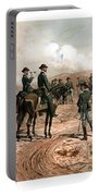The Siege Of Atlanta Portable Battery Charger by War Is Hell Store
