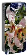 The Silk Flowers Portable Battery Charger