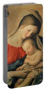 The Sleeping Christ Child Portable Battery Charger by Il Sassoferrato