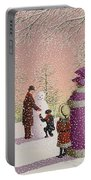 The Snowman Portable Battery Charger by Peter Szumowski