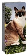 The Snowshoe Cat Portable Battery Charger
