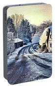 The Snowy Cottages Portable Battery Charger