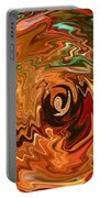 The Spirit Of Christmas - Abstract Art Portable Battery Charger