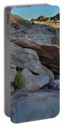 The Spotlight Fades At Valley Of Fire Portable Battery Charger