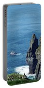 The Stack And The Jack B Cliffs Of Moher Ireland Portable Battery Charger