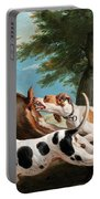 The Stag Hunt Portable Battery Charger