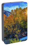 The Stars Of Autumn Portable Battery Charger