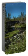 The Stone Bridge At Crawfish Creek Portable Battery Charger