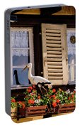 The Stork Has A Delivery - Colmar France Portable Battery Charger