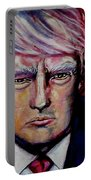 The Strength Of President Donald J Trump Portable Battery Charger