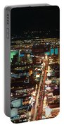 The Strip At Las Vegas,nevada Portable Battery Charger