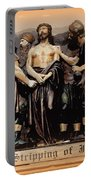 The Stripping Of Jesus Portable Battery Charger