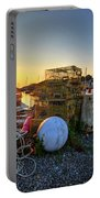 The Sun Rising By Motif 1 In Rockport Ma Bearskin Neck Lobster Traps Portable Battery Charger