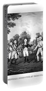 The Surrender Of General Burgoyne Portable Battery Charger