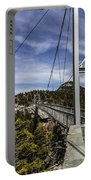 The Swinging Bridge Of Grandfather Mountain Portable Battery Charger